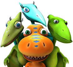T-rex expressz - dínós animációs mese